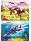Меганаклейки. Динозавры